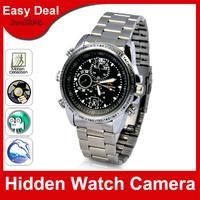 Waterproof Wrist Watch Camera 4GB 8GB HD Hidden Video Camera Mini DV DVR Security Camera Free Shipping