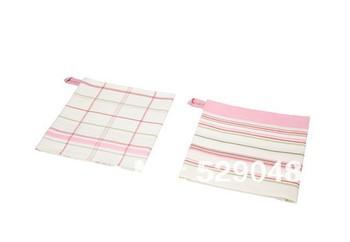 2 pieces/pack 100% cotton 50x70cm kitchen tea towel, table napkin, cleaning cloths