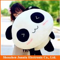 Free Shipping The Panda Doll Plush Toy Lies Prone Panda Panda Dolls Birthday Gift Stuffed Toys Animals Sise 35cm