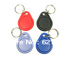 1K Round keyfobs   Strong plastic keyfob with a 1k NFC chip