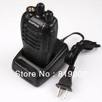1PC NEW BAOFENG BF-888S Black 400-470Mhz Walkie Talkie Radio UHF Two-Way Radio Transceiver Handled Intercom + Earpiece 750425