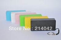 Free shipping 5600mAh mobile phone power bank external battery charger for iphone 4/4s/5 Samsung HTC 50pcs/lot With Retail Box