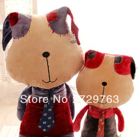2013 New Personality Creative Dog Doll Big Head Dogs Plush Toys Dolls Birthday Gift High 60cm
