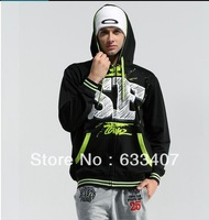 New Men's Plush Thick Warm Hoodie Winter Coat  with fashion ideal