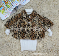 3Pcs winter warm leopard grain coat quilted jacket baby wear,Baby Kids Clothing,Children's Outwear,Children's Coat