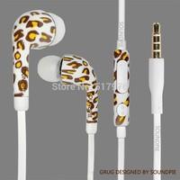 Free shipping auricular del oido con impresion 360 angulo con microfono con control de voloume de S4  fone de ouvido auriculares