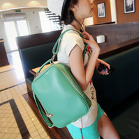 2013 vintage fashion preppy style backpack HARAJUKU cartoons doodle bag student school bag portable women's handbag