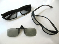 3pcs/lot New Whosales Family men +children Circular Polarized Passive 3D Glasses for Real D 3D Cinemas Passive  TV Free Shipping