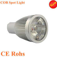 high quality 3 years warranty led spotlight cob bulb CE&Rohs AC85-265V Gu10 led 5w spot