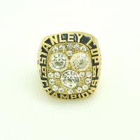 Free Shipping Hot Sale Fashion Oilers 1987 Stanley Cup Championship Ring, Custom Rings is Welcome,1PCS