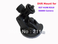 Promotion Gift Car Camera Window Suction Cup Mount Holder for 027 K6000 H198 F198 Driving Recorder DVR 1/4 Screw Head Bracket