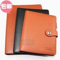 Quality gancin b5 loose-leaf commercial notebook notepad leather binder 9