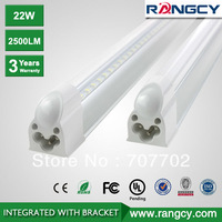 LED Tube T5 1.5M 23W 2500LM AC 85-277V ( tube+base all-in-one ) 3 years warranty Free Shipping