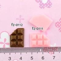 Wholesale Free shipping! kawaii flatback resin cabochons 8 colors  diy phone decoration craft Size11*16mm