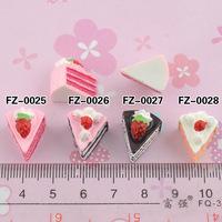Wholesale Free shipping! kawaii flatback resin cabochons 8 colors  diy phone decoration craft Size11*12*14mm