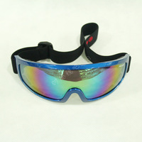 free shipping Polisi single tier skiing mirror outside sport motorcycle goggles male Women