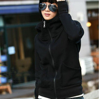 Women's 2013 spring and autumn with a hood sets sweatshirt outerwear