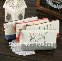 wholesale New vintage Flower Life DIY Multifunction pencil bag pen bag 15pcs/lot free shipping