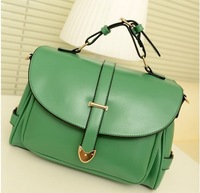 Hot sale!!! 2013 new women messager bag fashion pu leather handbags female shoulder bags free shipping