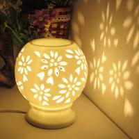 Ceramic aromatherapy lamp plug in electricity incense stove aromatherapy machine oil lamp aroma heater electric aromatherapy