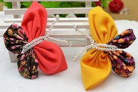 Butterfly child clip child hair clips side-knotted clip wafer hair accessory