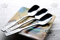Olympic spoon stainless steel tableware ice cream spoon ice cream spoon shell spoon