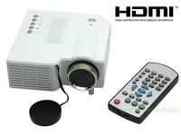 New UC28 Pro HDMI Portable Mini LED Projector Home Cinema Theater AV VGA USB SD