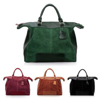 New Womens European Leather Handbags Totes Crossbody Shoulder Bags Purse Satchel