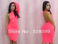 Hot-Selling2013 New Arrival Sexy Nightclub Dresses Summer Sexy Women's Party Evening bandage dress club wear One Shoulder Dress