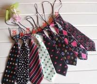 5pcs/Lot Children Ties Neck tie Choker Cravat Boys Girls Ties Baby Scarf Neckwear Free shipping CL0331