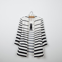 LIL*Y New Women's Blazers Business Suit Autumn with black and white stripe