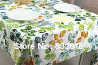 Free Shipping! 100% Polyester Microfiber Heat Transfer Printing Table Cloth Waterproof And Oilproof Tablecloth