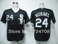 Free shipping!!! Cheap Baseball jersey Men's Chicago White Sox #24 Early Wynn  jersey # size: M-XXXL accept custom jerey