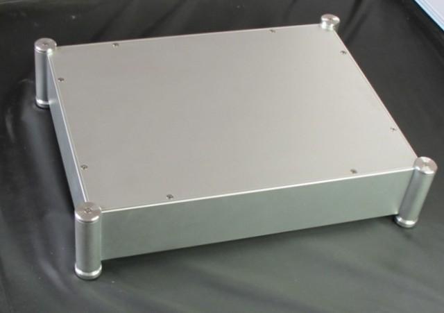 4308T Full Aluminum Enclosure / mini AMP case/power amplifier box/ chassis DIY amplifier kit(China (Mainland))