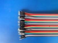 200PCS/LOT Dupont line 40p double slider 1p long 30cm 12 high quality copper wire