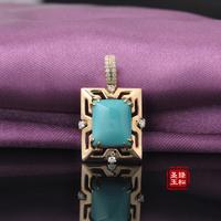 Ore turquoise bracelet natural porcelain blue beads flat beads diy Women bracelet bracelets 9.5-12mm
