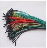 100pcs/lot Dupont line 1p double slider 20cm line dupont 5 color 20 free shipping