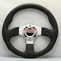 SALE!Wholesale!! !13 inches MOMO Suede Steering Wheel, racing car steering wheel Aluminum alloy, ACC1614