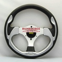 SALE!Wholesale!! !13 inches OMP Leather Steering Wheel, racing car steering wheel Aluminum alloy,ACC1607