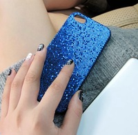Freeshipping! For Apple iPhone 5S Case Skin, High Quality Bling Glitter Case Cover for iPhone 5 5G 5S PC053