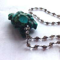 - - - - - - turcos raw ore necklace