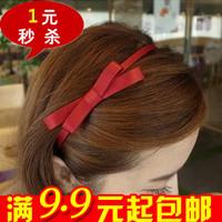 Min.order is $10(mix order)W E6134 accessories female bow hair bands headband hair accessory handmade