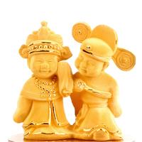 Alluvial gold velvet decoration wedding gift home accessories 2861