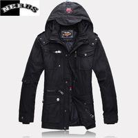 men down jacket brand parka winter men white duck down long men's winter warm jacket outwear free shipping