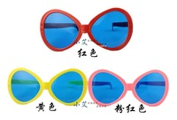 Multi Colours Super Fun Big Plastic 2014 World Cup Fans Glasses GL001 10pcs/Lot