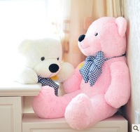 Free shipping right Angle measured 160 cm plush toy bear teddy bear doll doll supersize cute cuddly bear