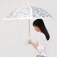 Plain u-pick umbrellas original design long-handled fresh semi automatic small umbrella