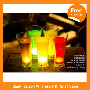 DHL Free Shipping 72pcs/lot  Lovers of the romantic gifts creative trend baby mini night light juice LED desk lamp