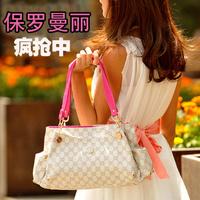 Polomiley2013 one shoulder cross-body portable fashion one shoulder handbag women's handbag