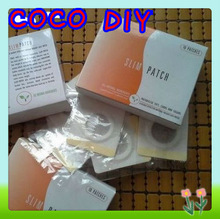 Slimming Patch With Package  Navel Stick Magnetic Slim Patches Sharpe Weight Loss Burning Fat 10pcs/lot